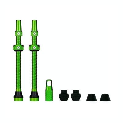 Muc-Off MTB & Road Tubeless Venttiili Setti 80mm vihreä