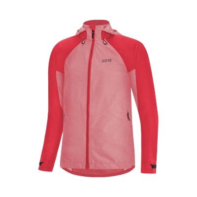 Gore Wear C5 Punainen Hupullinen Naisten Takki