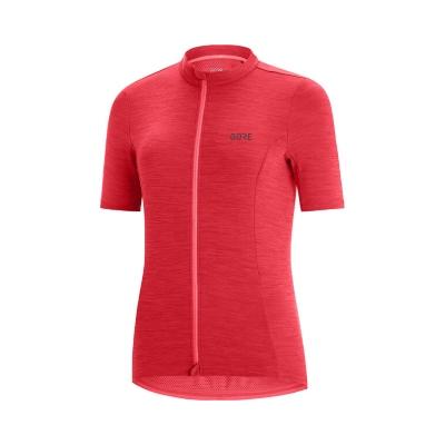 Gore Wear C3 Jersey Naisten Punainen Pyöräílypaita