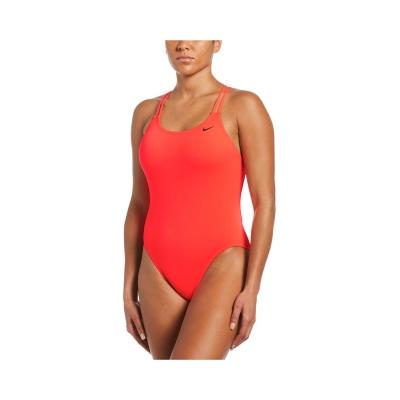 Nike Swim Hydrastrong Naisten Punainen Uima-asu