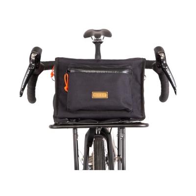 Restrap Rando Rack Top Bag Musta Ohjaustankolaukku