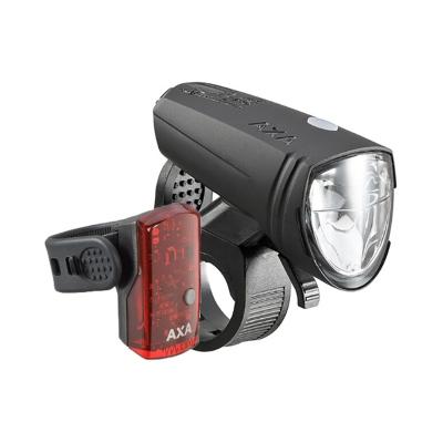 Axa Greenline 15 lighting paristokäyttöinen pyöränvalo setti