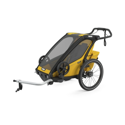 Thule Chariot Sport 1 Keltainen Pyörävaunu