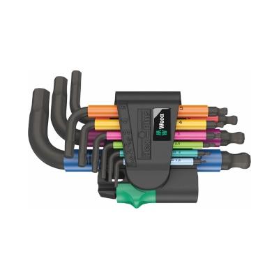 Wera 950 Hex-Plus Multicolour Pyörän Työkalussetti